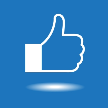 Design thumbs up icon